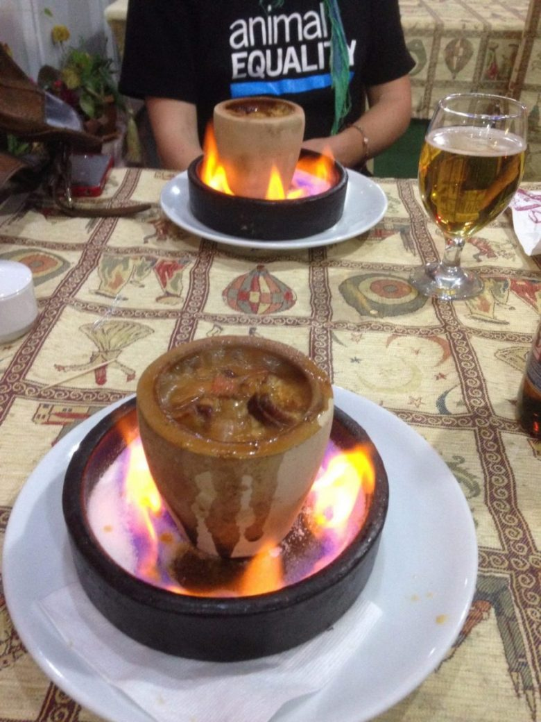 Food on fire - how to be vegan in Turkey