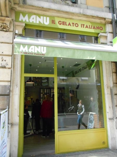Manu Gelato - Vegan Food in Geneva