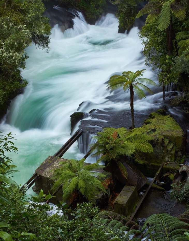 Okere Falls, New Zealand - vegan campervan holiday