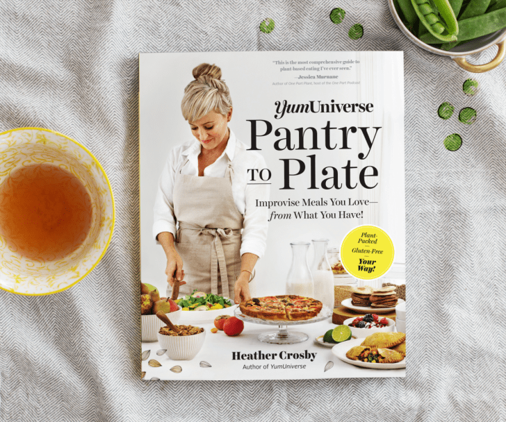 Pantry to Plate - recipe template cookbook by Heather Crosby