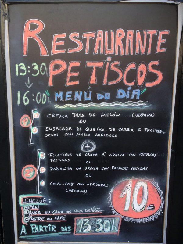Pilgrim's Menu - vegan on the Camino de Santiago