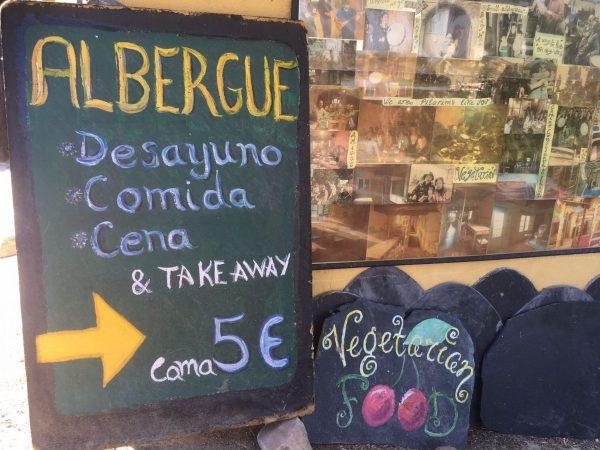 Vegetarian Albergue - vegan on the Camino de Santiago