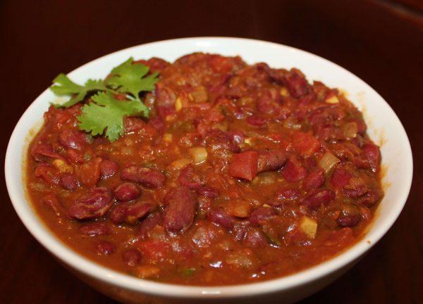 2. Rajma - vegan Indian food