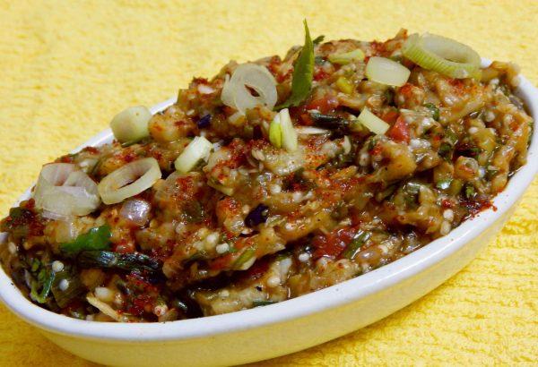 5. Baingan Bharta - vegan Indian food