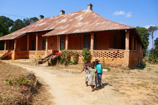 Colonial building in Livingstonia - Malawi food
