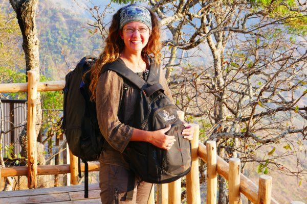 Wendy Werneth at the Mushroom Farm - Malawi Food