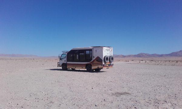 Wild Dog Safari truck - tour of Namibia
