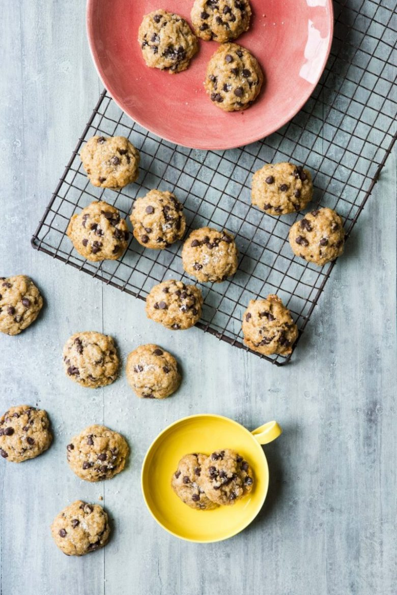 Soft-Batch Chocolate Chip Cookies - easy simple vegan recipes for beginners