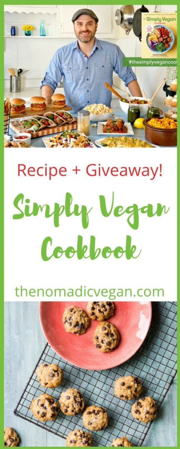 The Simply Vegan Cookbook by Dustin Harder - Book Review, Recipe and Giveaway!