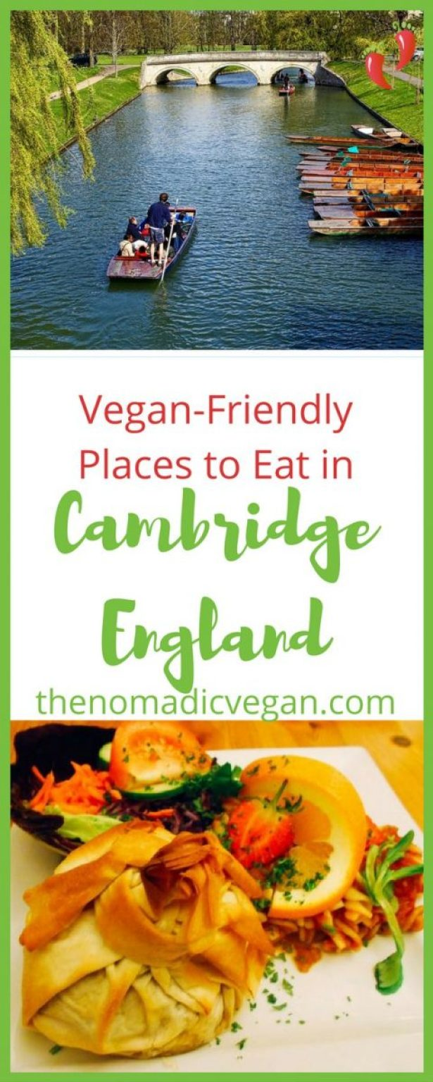 Vegan-Friendly Places to Eat in Cambridge England
