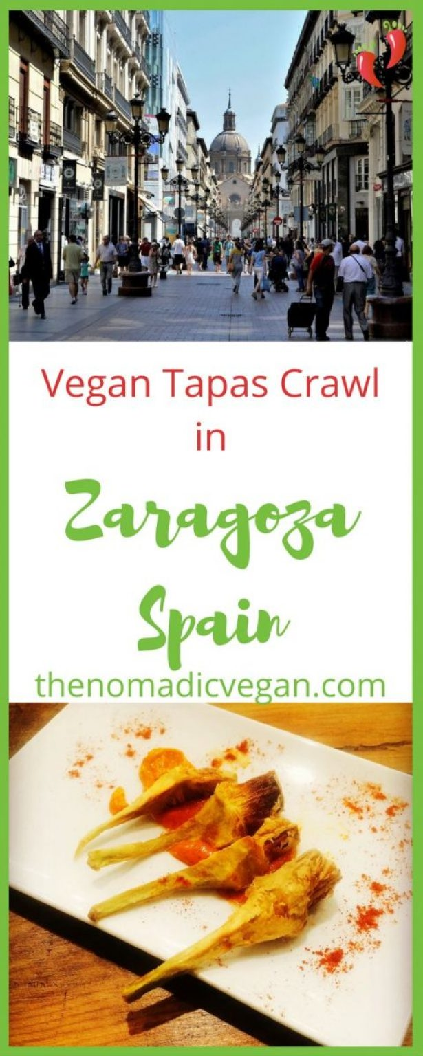 How to plan your own vegan tapas crawl in Zaragoza, Spain