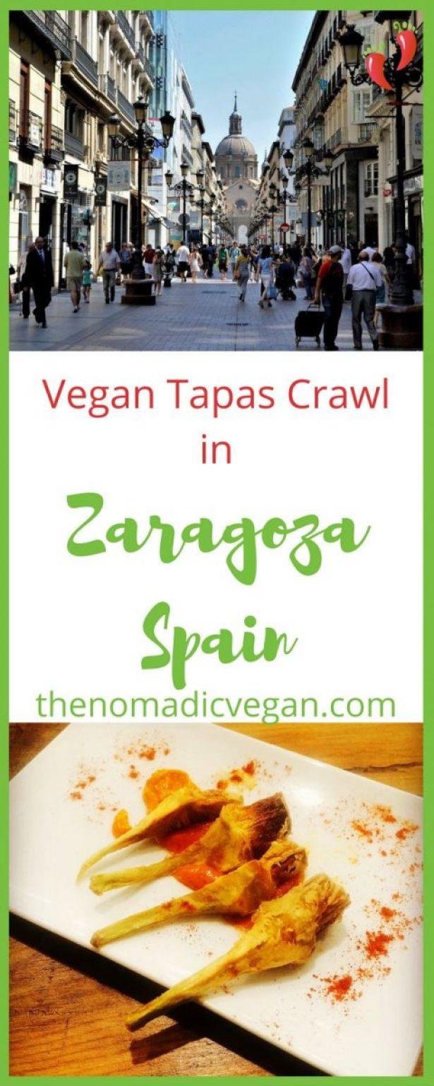 How to plan your own vegan tapas crawl in Zaragoza, Spain