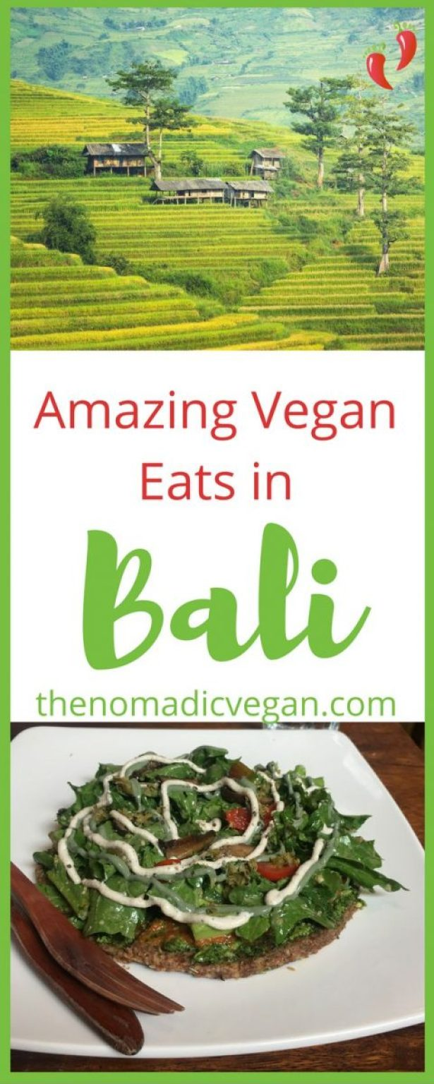 Amazing Vegan Eats in Bali, Indonesia