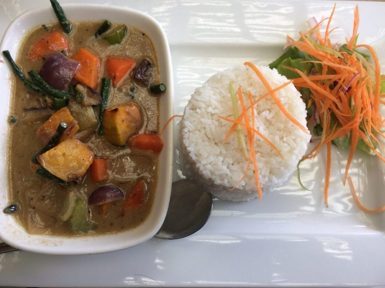 Thai curry at one of the best restaurants in Fiji for international fare