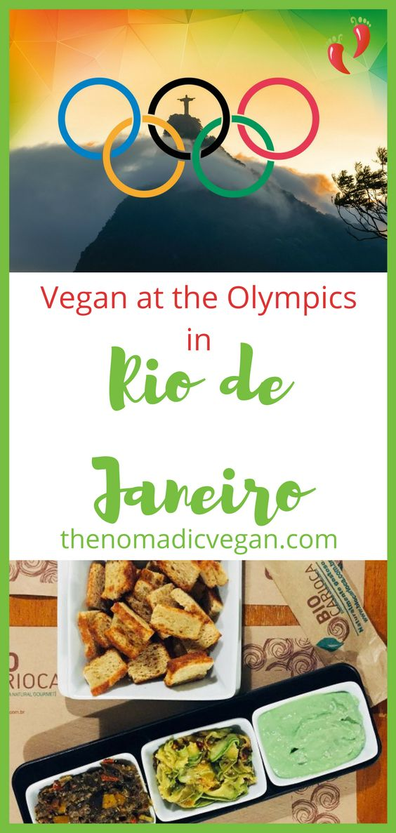 Vegan at the Olympics in Rio de Janiero, Brazil