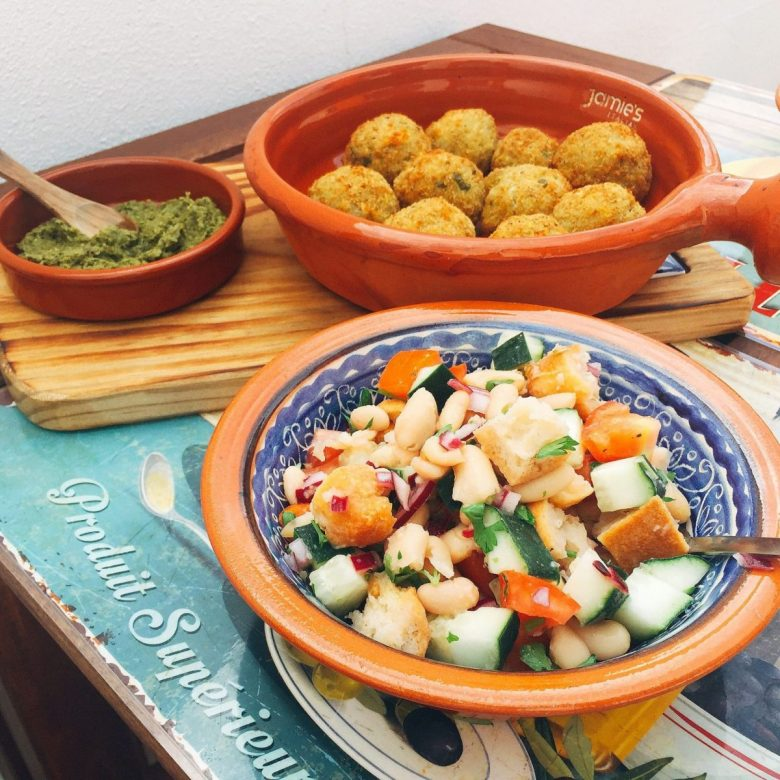 Panzanella and Arancini - organic vegan wine brands