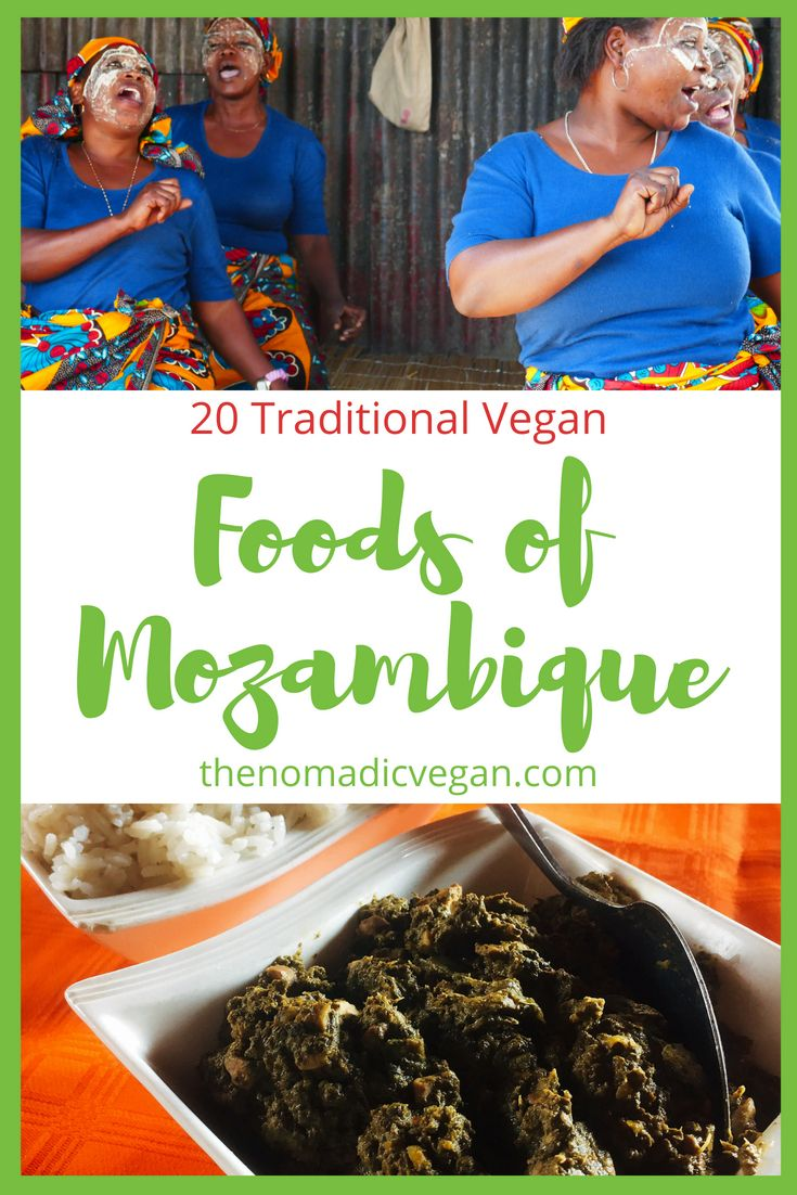 20 Traditional Vegan Foods of Mozambique