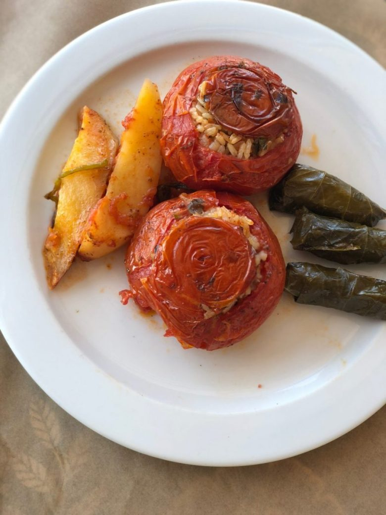 Gemista - stuffed peppers or tomatoes