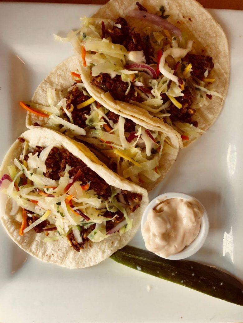 Marie Catrib's Ancho-Lentil Tacos | Grand Rapids restaurants