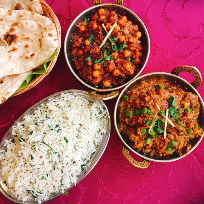 Indian Olomouc food vegan