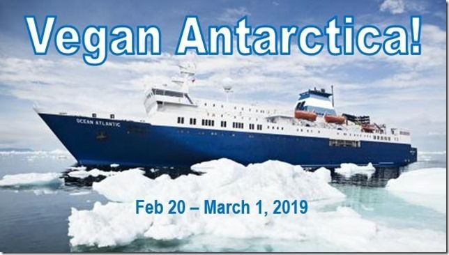 Vegan Antarctica trip 2019