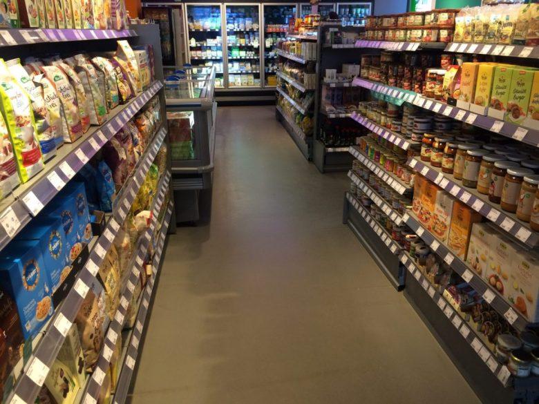 vegan supermarket in Germany
