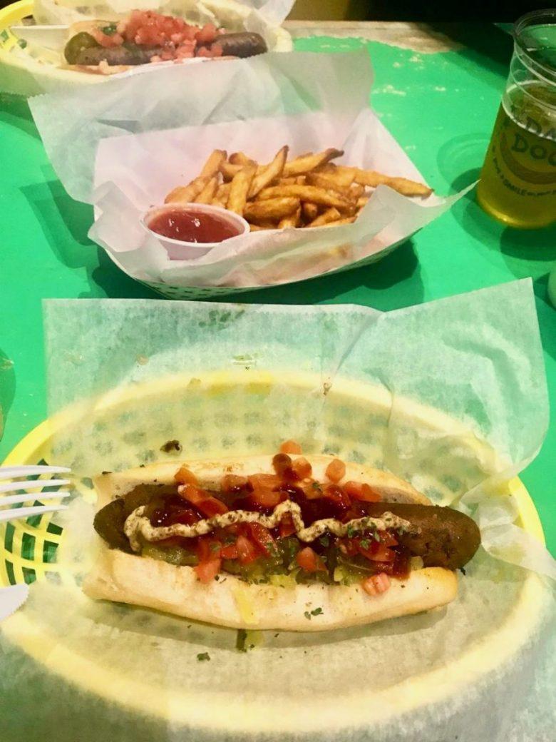 Dat Dog vegan restaurants in New Orleans