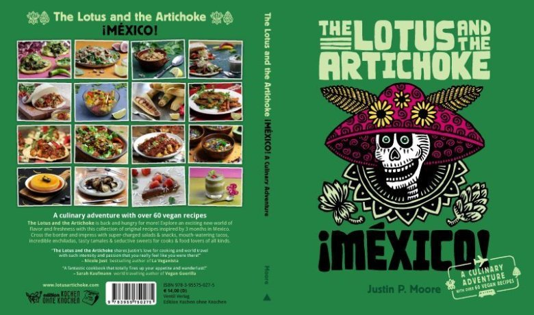 The Lotus and the Artichoke vegan Mexico book