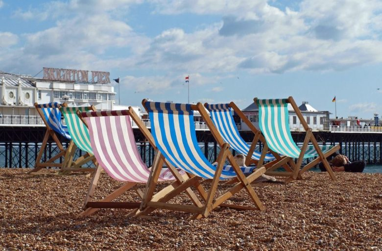 Brighton - famous for its beaches and vegan food
