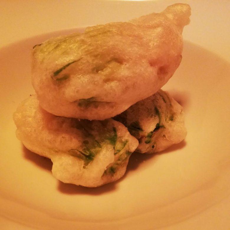 Vegan stuffed zucchini at Vero Gastrobar vegetarian restaurant in Naples Italy