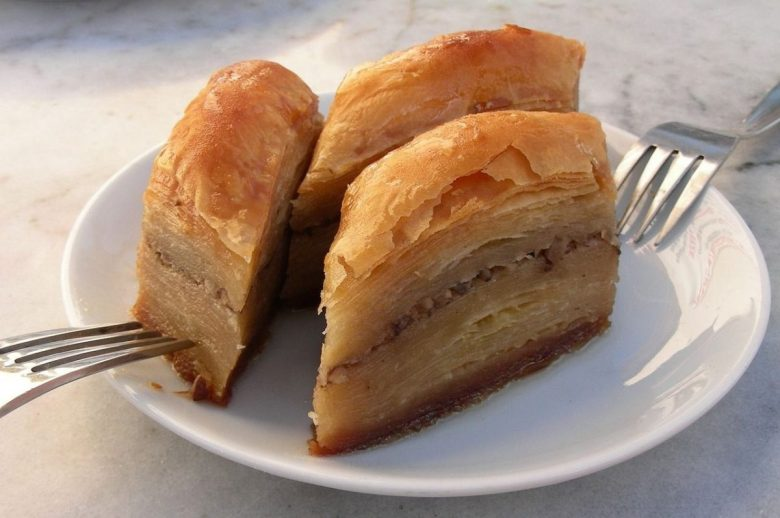 Many Serbian dishes are of Middle Eastern origin, such as baklava.
