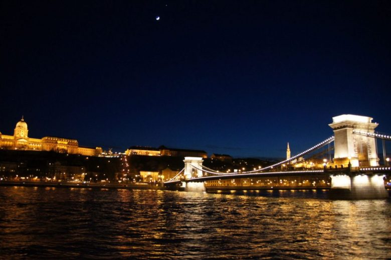 Budapest Hungary by Night