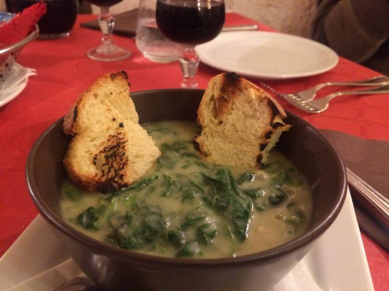 Fave e cicoria - authentic Puglia food