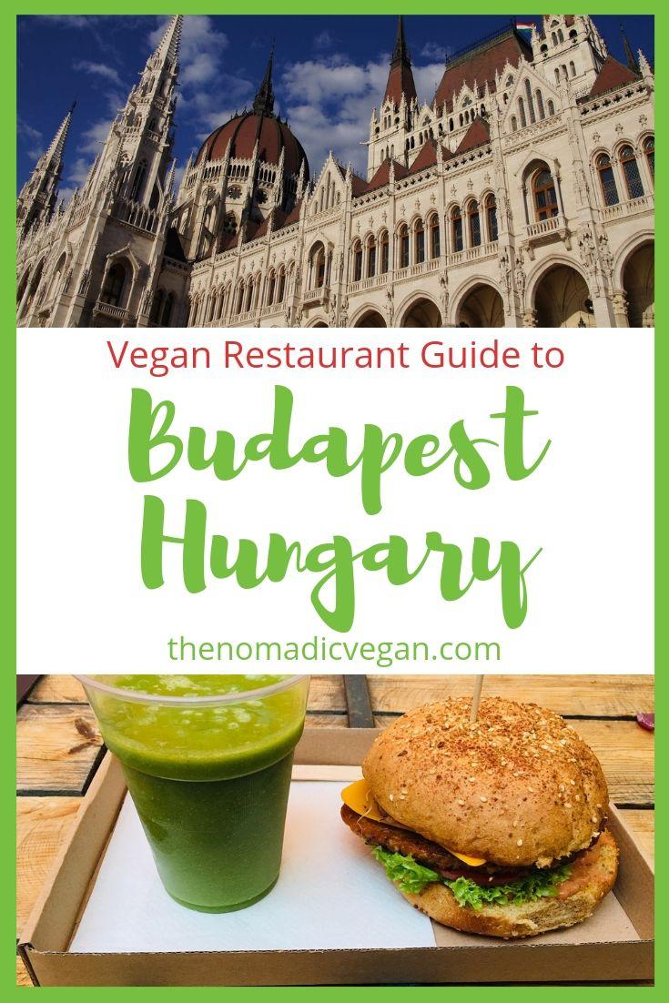Vegan Guide to Budapest Hungary