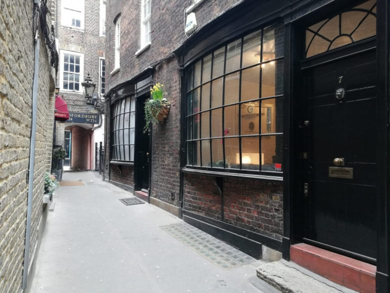 Goodwin's Court (Knockturn Alley) - one of the lesser known Harry Potter sites in London