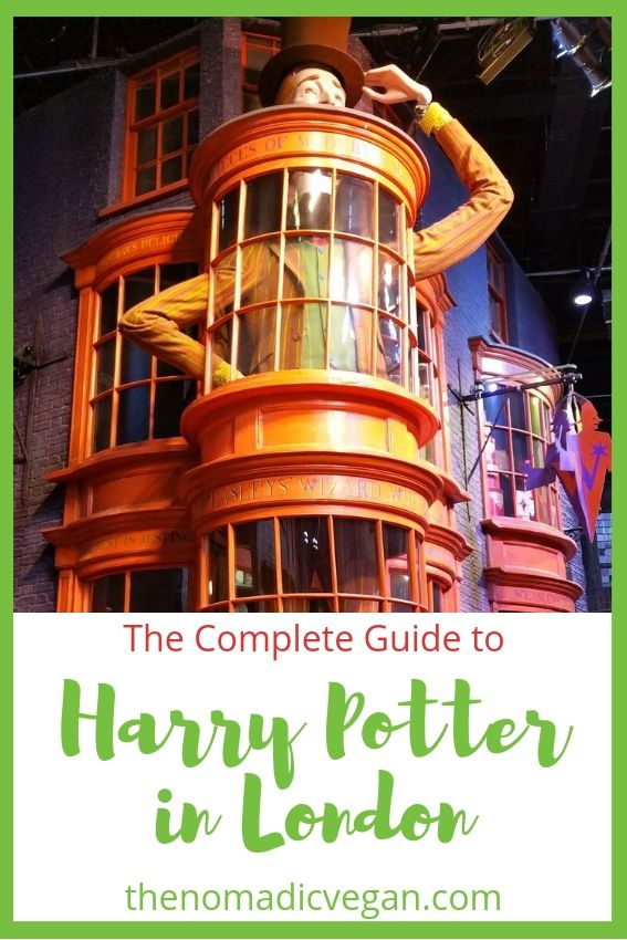 The Complete Guide to Harry Potter in London - includes filming locations and other Harry Potter attractions