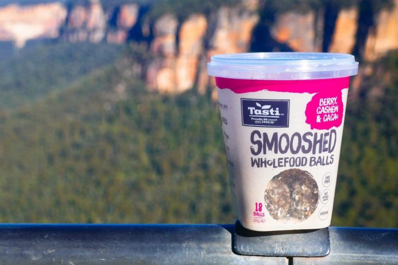 Smooshed Wholefood Balls are a quick and easy trail snack