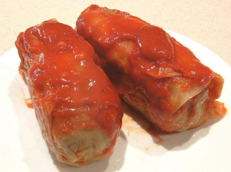 Gołąbki (cabbage rolls)
