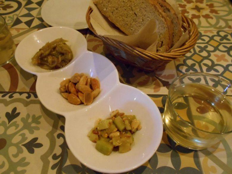 Vegan tapas in Madrid at Vega
