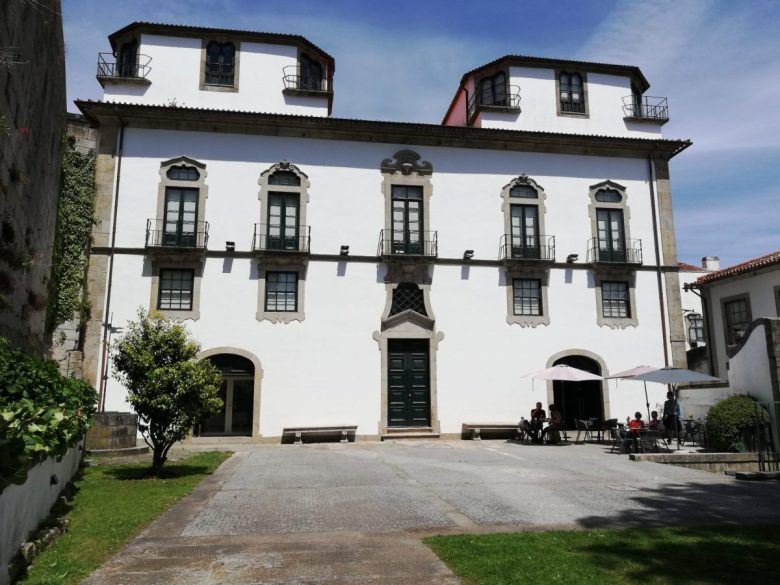 The café in the courtyard of the Casa Museu Guerra Junqueiro is a great place for a drink or snack.