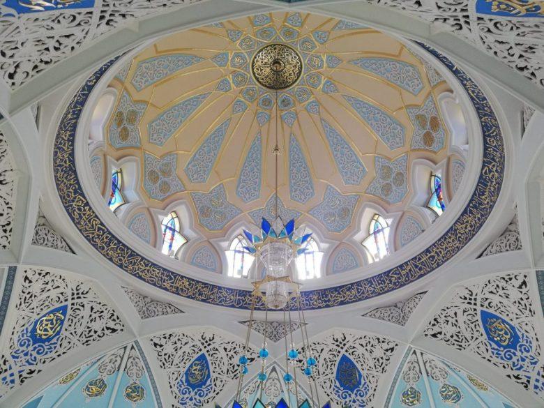 Kul Sharif Mosque interior