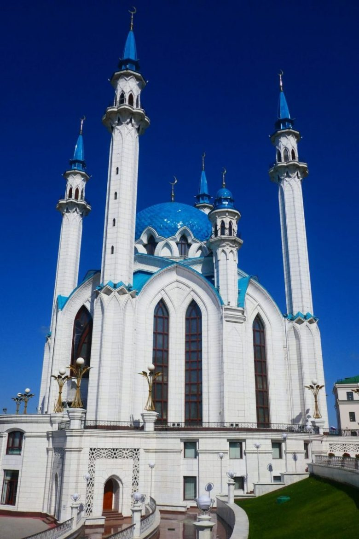 Kul Sharif Mosque exterior