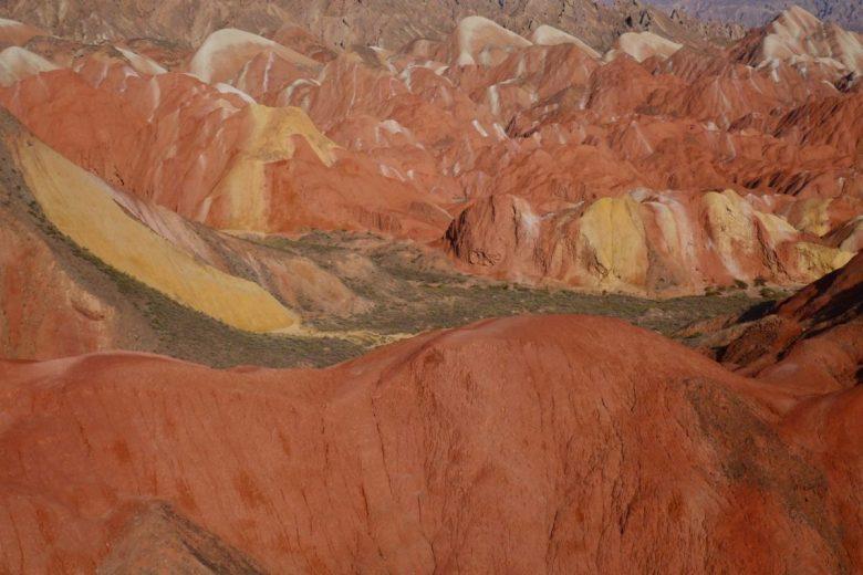 Rainbow Mountains in Zhangye, Gansu China
