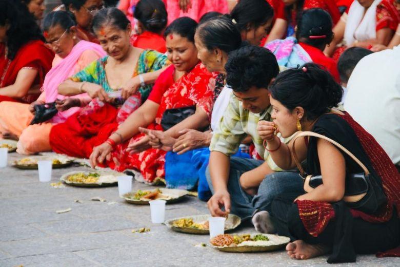 Vegan Nepal food