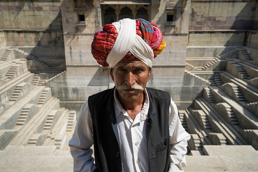 Portrait in a Rajasthan Stepwell: My Steve McCurry Moment
