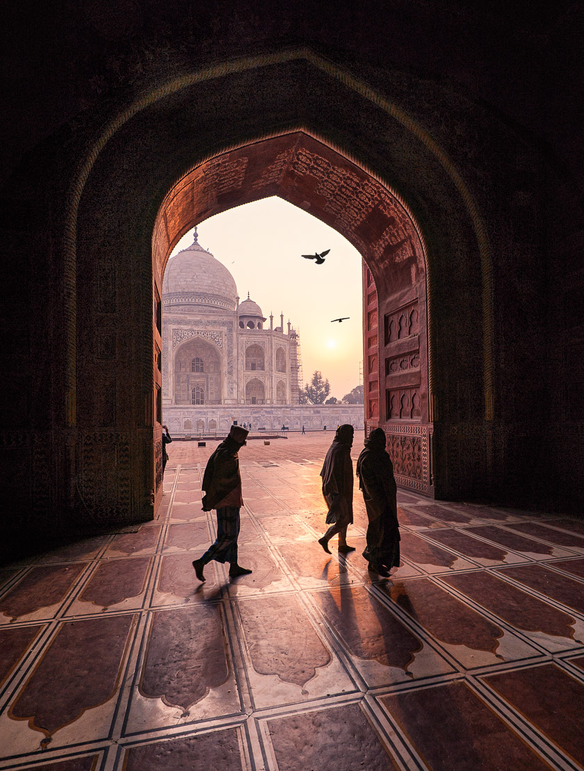 Depth of Field at The Taj Mahal
