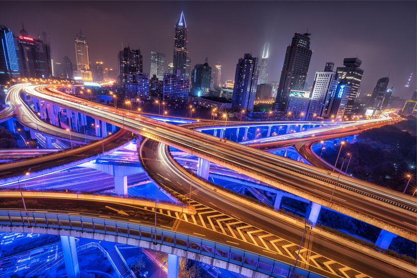 The Craziest Intersection I've Ever Seen | Shanghai, China