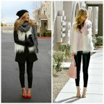 Rework Your… White Fur Vest