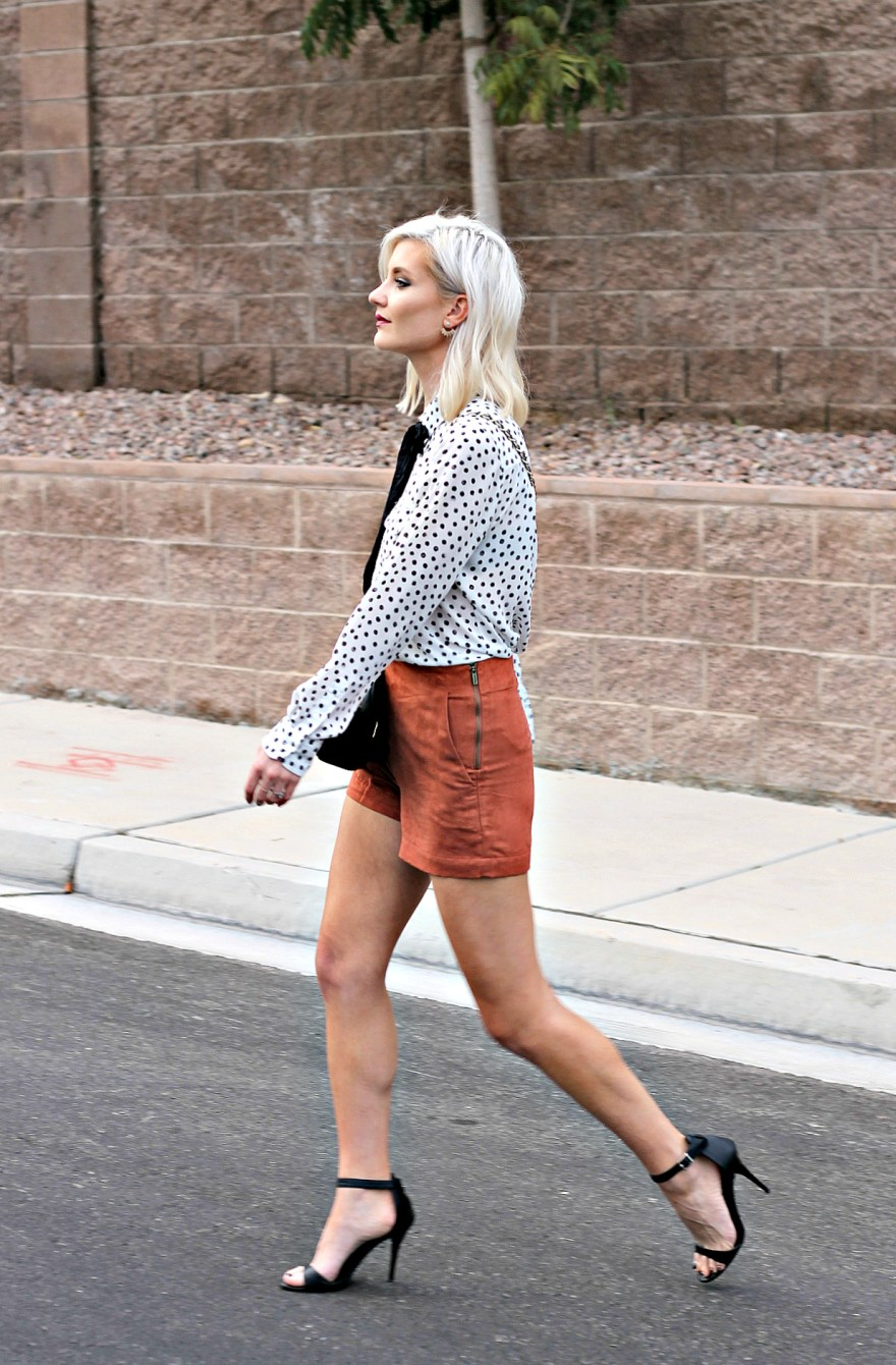 suede-shorts-polka-dot-shirt-bow-blouse-studded-purse-lindsey-simon-the-nomis-niche-las-vegas-fashion-blogger-beauty-blogger-3