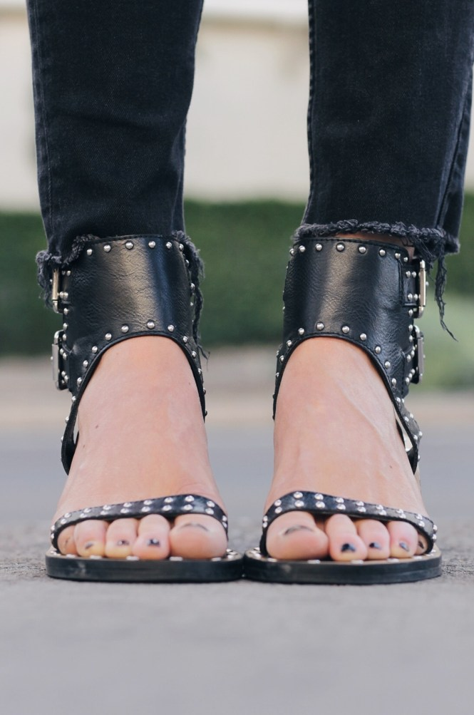 studded sandals, isabel marant, spring style, summer style, how to wear, outfit, fashion blogger, las vegas